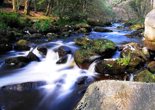 Hebden Water, Hardcastle Crags , Hebden Bridge