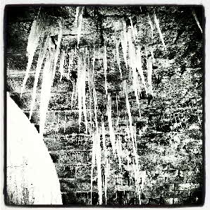 Icicles, Rochdale Canal, Hebden Bridge