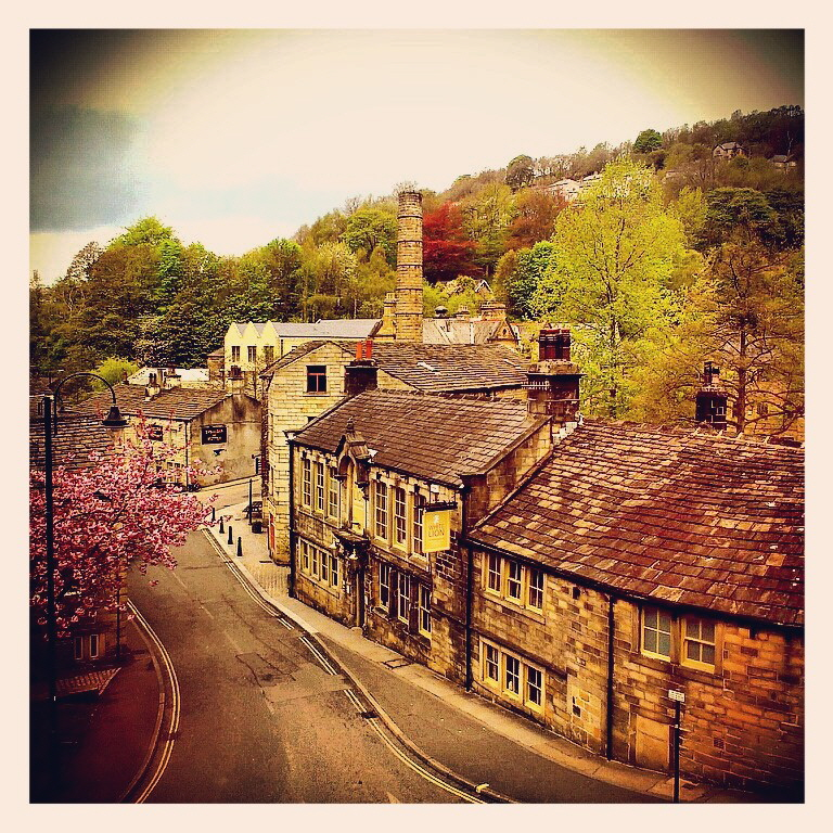 The White Lion Hotel, Hebden Bridge, - Smithy's favourite watering hole!