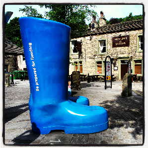 Prepared for Flooding, Shoulder of Mutton, St George's Square, Hebden Birdge
